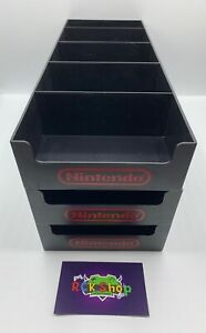 Nintendo - 1x Vitrinen Schuber - für Nintendo NES / SNES - Original