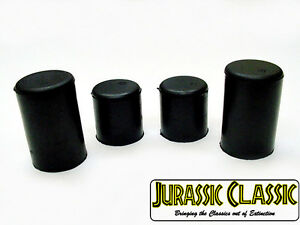 """Fits AMC  5/8"""" 3/4"""" Water Pump Heater Core Rubber Hose Caps Blockoff Plugs nos"""