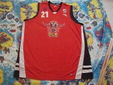 CBA SHANDONG GOLD LIONS Xu Jiahan authentic Chinese basketball game worn Jersey