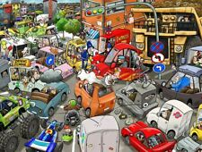 Chaos on the Road 1000 Piece Jigsaw Puzzle