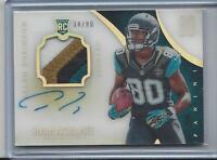 ALLEN ROBINSON 2014 IMMACULATE ACETATE MULTICOLOR PATCH ON CARD AUTO RC #D /80