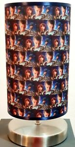 Stranger things will seven Bedside touch lamp night light fabric shade