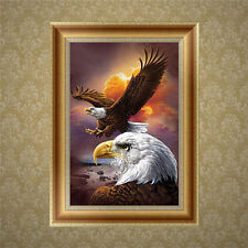 Eagle 5D Diamond Embroidery Painting Nice DIY Cross Stitch Home Wall Decor Craft