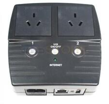 5Gstore Remote Power Switch - 2 Outlets (Type I Plug for Australia, New Zealand,