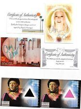 Signed *Angel* card, Amy Acker, COA