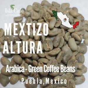 Mexico Green Coffee Arabica from Tlatlauquitepec, Puebla Small Farm MEXTIZO
