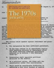 Defining Documents in American History: The 1970s (1970-1979): Print Purchase