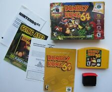 Donkey Kong Nintendo 64 N64 OEM Complete In Box CIB Expansion Video Game GREAT!