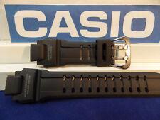 Casio Watch Band G-1400 Blk Resin Strap G-shock Tough Solar Water 20 Bar Resist