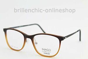 """IMAGO ULTRALIGHT Brille Leda col. 30G Gr.50/18 TITANIUM """"NEU"""""""