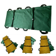 8 Handle Hospital Medical Rescue Patient Soft Folding Stretchers 2 Color NBTS