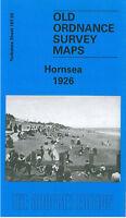 OLD ORDNANCE SURVEY MAP HORNSEA 1926 THE OVAL CLIFF ROAD EDENFIELD KIRKHOLME