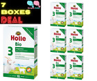 7 Boxes Holle Goat Milk Stage 3 Organic New Formula With DHA Germany Free Ship
