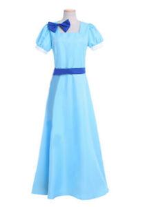 Ladies Peter Pan Wendy Darling Fancy Dress Costume Rachel Fairy Tail Wendy Dress
