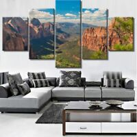 Grand Canyon 5 Pieces Canvas Wall Art Poster Print Home Decor