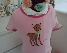 Lillifee Bambi REH T-Shirt M 104 110 116 farbenmix Prinzessin RARE Rosa