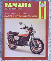 1973-1979 Yamaha RD250 RD350 RD 250 350 Twin HAYNES SERVICE & REPAIR MANUAL 040