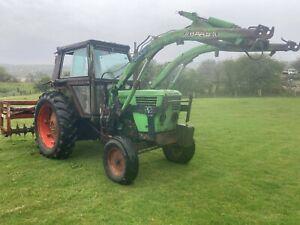 Deutz 6808 Tractor & Loader