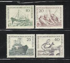 ALEMANIA, (D.D.R.). Año: 1961. Tema: FLOTA DE PESCA.