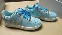 Nike Air Force 1 (GS) Blue / White New in Box!! Size 3.5!!