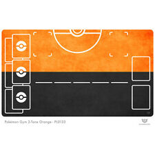 Pokemon Gym Playmat 2-Tone Orange - Pokemon Play Mat (PL0133)