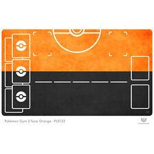Pokemon Gym Playmat 2-Tone Orange - Pokemon Play Mat (PL0133)