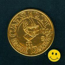 1984 Rare Archie Manning New Orleans Saints - Ole Miss.  NFL 10Ga Doubloon Token