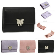Ladies Animal Purses Women Medium Size Wallet Card Holder With Slots Butterfly