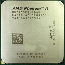 AMD Phenom II X4 955 CPU HDZ955FBK4DGM 3.2 GHz Quad-Core Socket AM3 Processor US