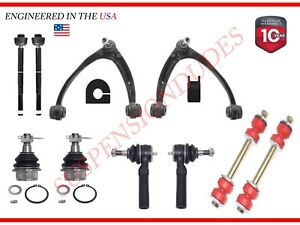 12PC FRONT UPPER CONTROL ARMS + FULL SUSPENSION KIT FOR CHEVROLET CADILLAC GMC