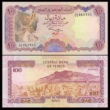 YEMEN ARAB REPUBLIC 100 RIALS UNC # 441