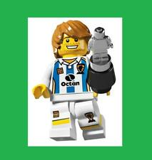 SEALED Lego Series 4 Soccer Player Sport Team Ball  Minifigure Silver Trophy