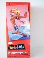 Weird Ohs Hot Dogger Hangin' Ten Model Kit - NEW IN BOX!!