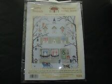NEW BOTHY THREADS NEW ENGLAND CROSS STITCH KIT SALLY SWANNELL CHRISTMAS WINTER