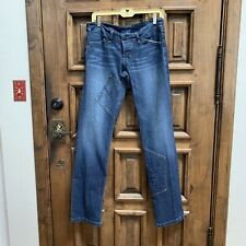 Rufskin Straight Leg Patch Stretch th Jeans