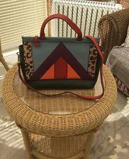 NEXT Leopard Colourful Print Tote Bag Handbag