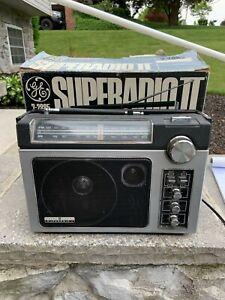 GE Model 7-2885A Portable Super Radio Long Range AM/FM GE amazing sound! Works