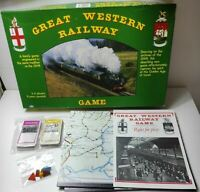 Vintage Great Western  Railway Game 1985 by Gibsons Games Ages 8+ VGC