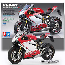 TAMIYA 1/12 DUCATI 1199 PANIGALE S TRICOLOR KIT NO 132 MOTORCYCLE SERIES