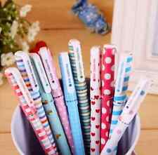 Set of 10 colors Korean Stationery 0.38mm Extra Fine Point Gel Ink Pens ZXB06