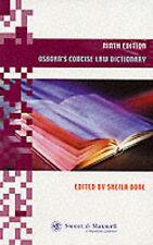 Very Good, Osborn's Concise Law Dictionary, Osborn, P.G., Bone, Sheila, Book
