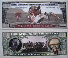 US DOLLAR COLLECTOR   INDIAN   WESTERN   COWBOY   COUNTRY - Ref.19