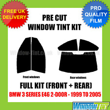 BMW 3 SERIES E46 2-DOOR 1999-2005 FULL PRE CUT WINDOW TINT KIT