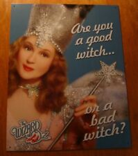 Wizard of Oz Movie Sign Home Decor Glinda Are You A Good Witch Or A Bad Witch?