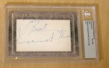 Press Pass Platinum Cuts Cut autograph VINCENT PRICE 1/1 Laura/The Fly/Phibes