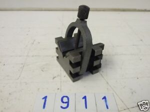 Vee Block with clamp 90 degrees (1911)
