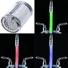 Embout de Robinet Cuisine thermorupteur Faucet Lumineux LED 3Couleur Lavabo IDXX