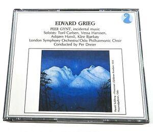 Edvard Grieg Peer Gynt 2 disc 1988 Norsk NKFCD 50001-2 A/B Norway D497