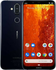 Nokia 8.1 Single Sim Dark Blue, TOP Zustand