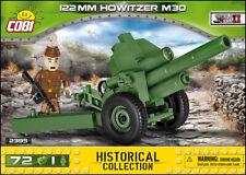 COBI 122 mm Howitzer M30 (2395) - 72 elem. - WWII Soviet medium howitzer